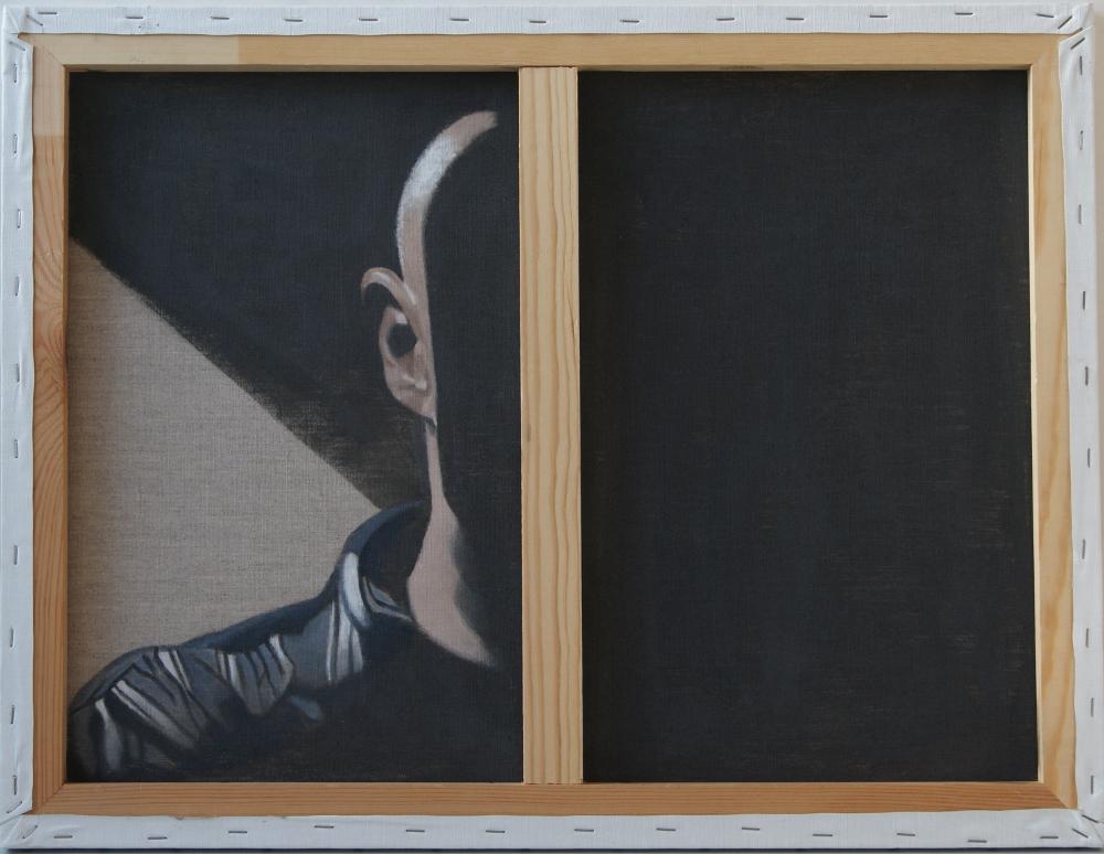 Autoportrait Serge Jamois
