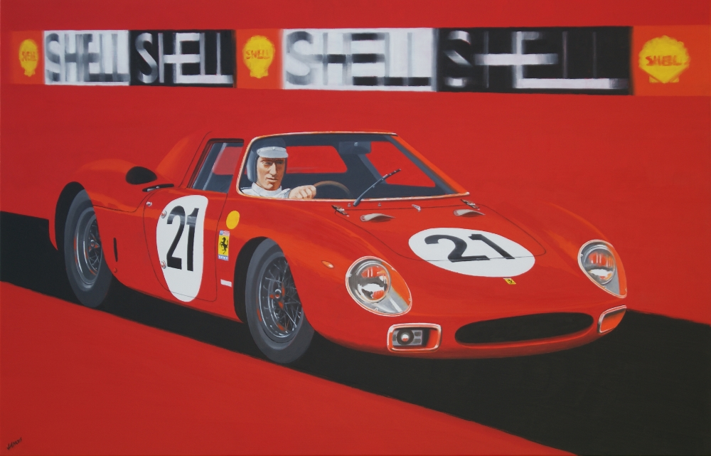 Ferrari 250LM - 24h du Mans 1965